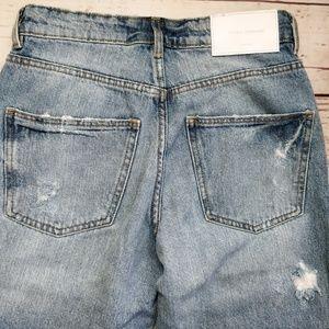 43b4c154 Zara Jeans - ZARA Denim TRF IX'd Makers Ripped Flared Jeans 00
